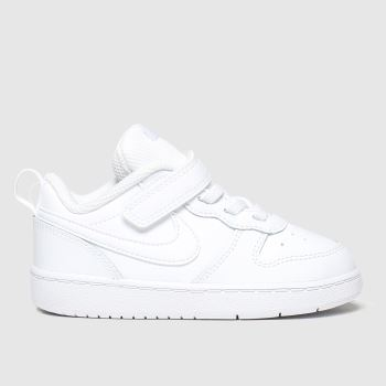nike white court borough low 2 trainers toddler
