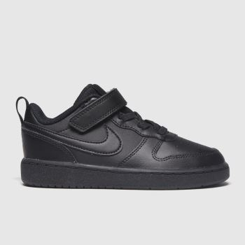 Nike Schwarz Court Borough 2 c2namevalue::Unisex Kleinkind