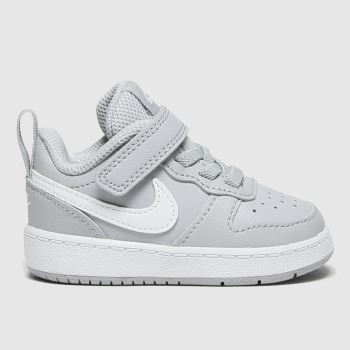 Nike Grey Court Borough 2 Unisex Toddler