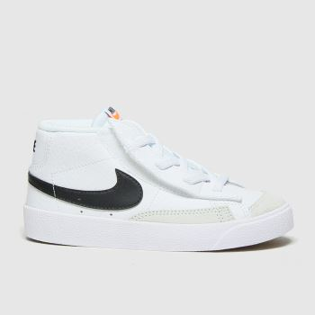 Nike White & Black Blazer Mid 77 Unisex Toddler