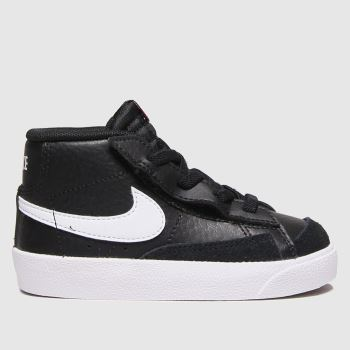 Nike Black & White Blazer Mid 77 Unisex Toddler