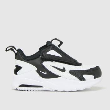 Nike White & Black Air Max Bolt Unisex Toddler