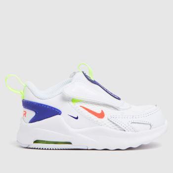 Nike White & Navy Air Max Bolt Unisex Toddler