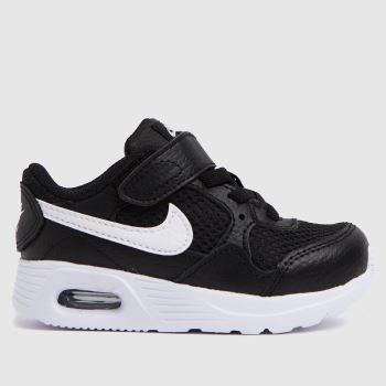 Nike Black & White Air Max Sc Unisex Toddler
