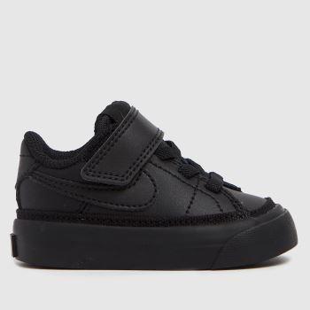 Nike Black Court Legacy Unisex Toddler