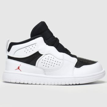 Nike Jordan White & Black Access c2namevalue::Unisex Toddler