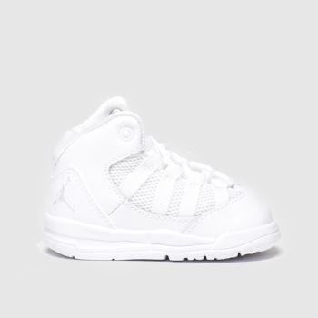 Nike Jordan White Jordan Max Aura c2namevalue::Unisex Toddler