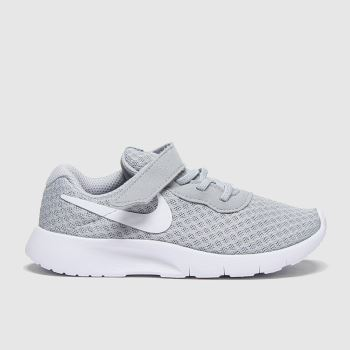 Nike Light Grey Tanjun Unisex Toddler#