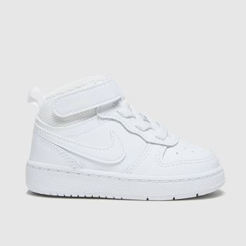 Nike White Court Borough Mid 2 Unisex Toddler