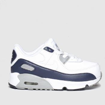 Nike White & grey Air Max 90 Unisex Toddler#