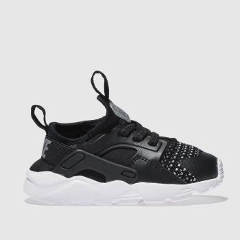 Nike Black & White Huarache Run Ultra Se Unisex Toddler