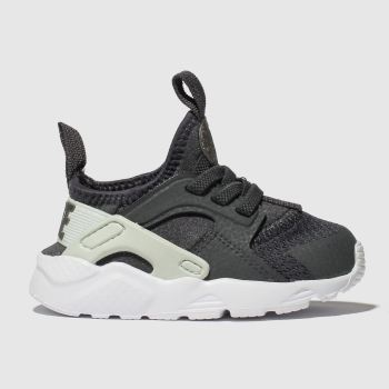 NIKE DARK GREY HUARACHE RUN ULTRA TRAINERS TODDLER