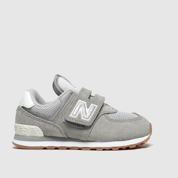 New Balance Grey 574 Unisex Toddler#