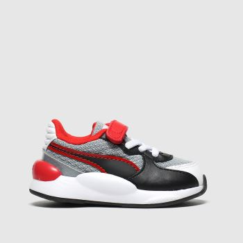 Puma Black & Red Rs 9.8 Player Unisex Toddler