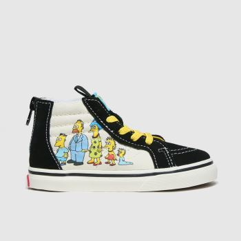 Vans Multi Sk8-hi Zip Simpsons Unisex Toddler#