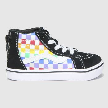 Vans Multi Comfycush Sk8-hi Zip Tdlr Unisex Toddler#
