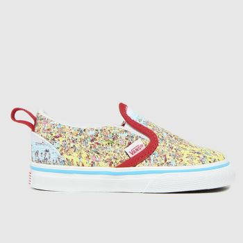 Vans Multi Classic Slip-on V Waldo Unisex Toddler
