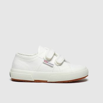Superga White 2750 Classic Unisex Toddler