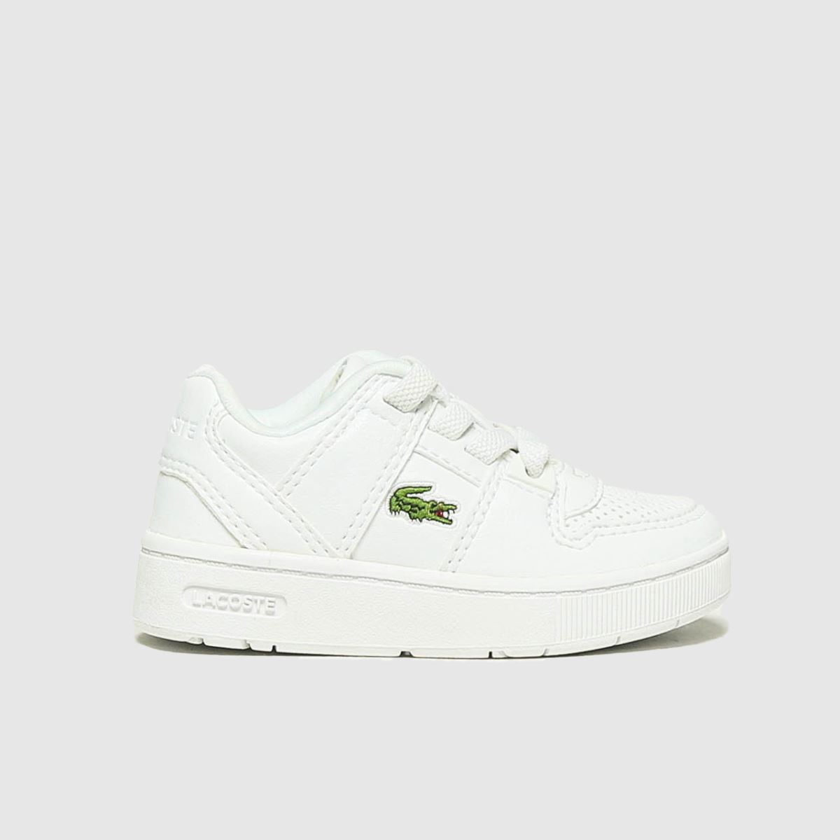 Lacoste White Thrill Trainers Toddler