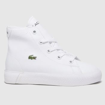 Lacoste White Gripshot Mid Unisex Toddler