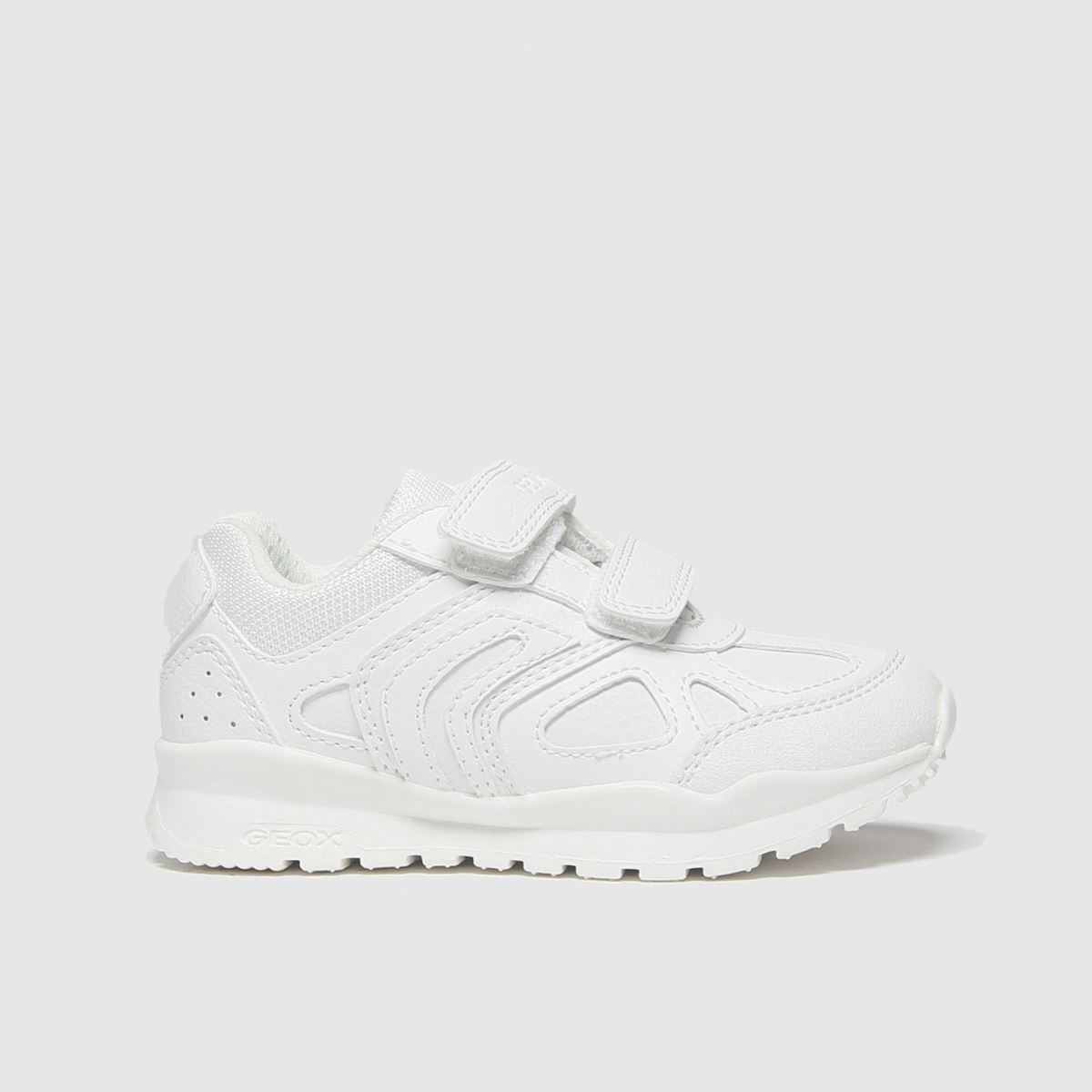 Geox White Pavel Trainers Toddler