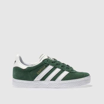 Adidas Dark Green GAZELLE Unisex Junior