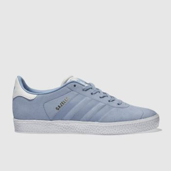 Adidas Pale Blue Gazelle Unisex Junior