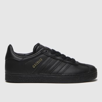 Adidas Black Gazelle Unisex Junior#