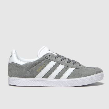 adidas Grey Gazelle Unisex Junior