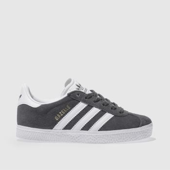 Adidas Dark Grey GAZELLE Unisex Junior