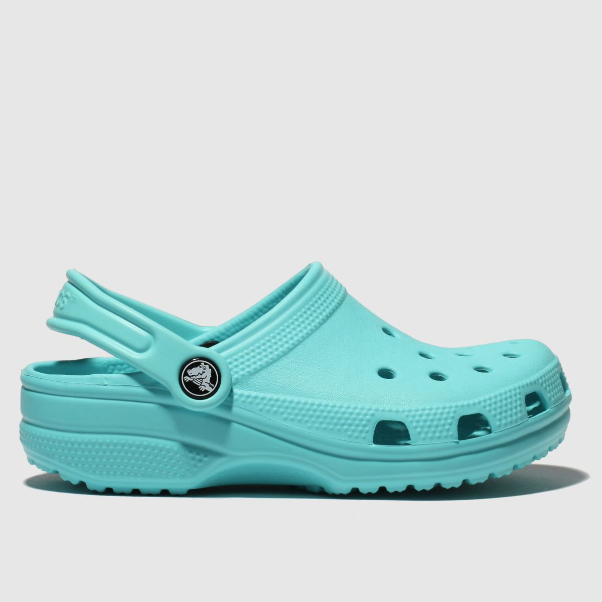 Crocs Turquoise Classic Clog Sandals Junior