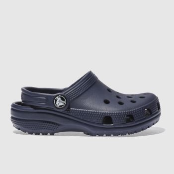 Crocs Navy Classic Clog Unisex Junior#