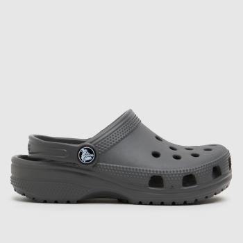 crocs Grey Classic Clog Unisex Junior