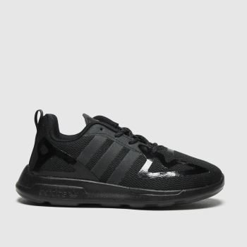 adidas Black Zx 2k Flux Unisex Junior#