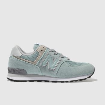 New Balance Turquoise 574 Unisex Junior