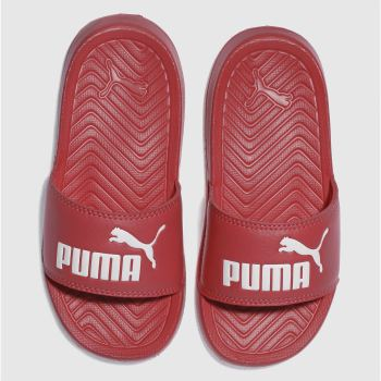 PUMA PINK POPCAT JUNIOR SANDALS