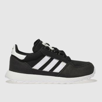 Adidas Black & White Forest Grove Unisex Junior