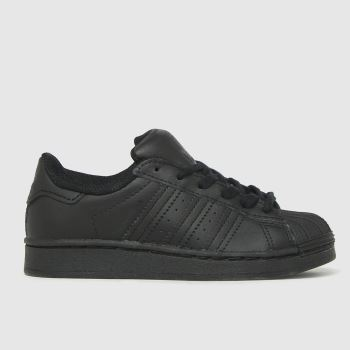 adidas Black Superstar Unisex Junior