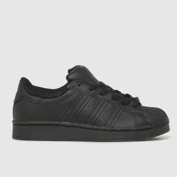 adidas Black Superstar Unisex Junior