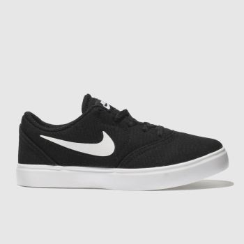 Nike Sb Black Check Unisex Junior