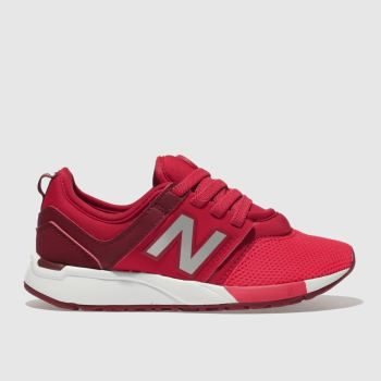 New Balance Red 247 Unisex Junior