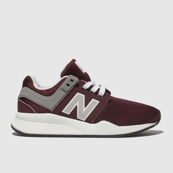 New Balance Burgundy 247 Unisex Junior