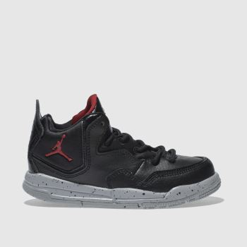 Nike Jordan Black & Red Courtside 23 Unisex Junior