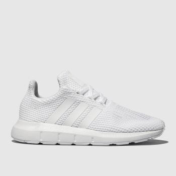 3f62af055 Adidas White Swift Run Unisex Junior