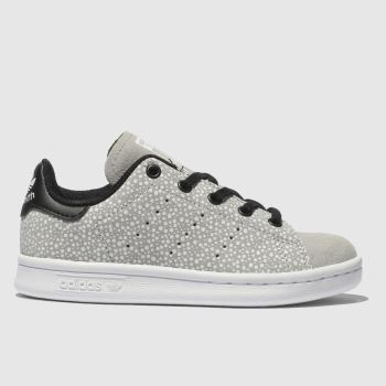 29188a19f22 Kids Unisex light grey adidas stan smith trainers