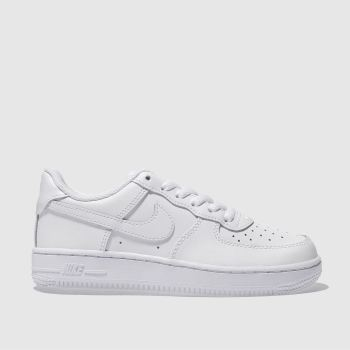 Nike White Air Force 1 Unisex Junior