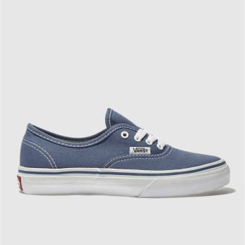 Vans Navy Authentic Unisex Junior
