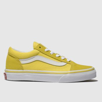 Vans Yellow Old Skool Unisex Junior