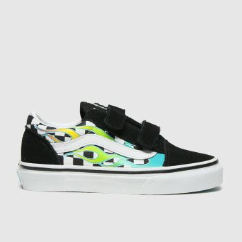 Vans Black and blue Old Skool Unisex Junior