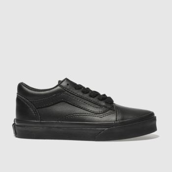 718ee19244 Vans Black Old Skool Unisex Junior